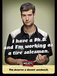 Milio's Sandwiches: Phd | Ads of the World™