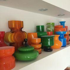 Alsterfors and PO Strom Ceramic Design, Glass Design, Kitchenware, Tableware, Mid-century Interior, Art Of Glass, Italian Art, Opaline, Antique Glass