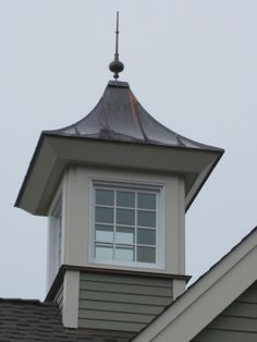 Barn Cupolas - Witches Hat Non-Venting Cupola with Glass | Barn Depot $1,500 & up