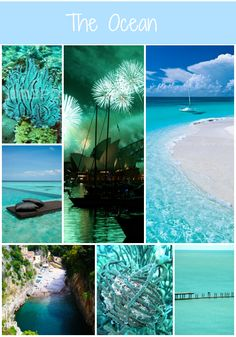 The Ocean blues :)