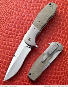 Flip folder by John W. Smith Knives