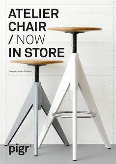 Atelier Chair by pigr, designed by Studio C Milano