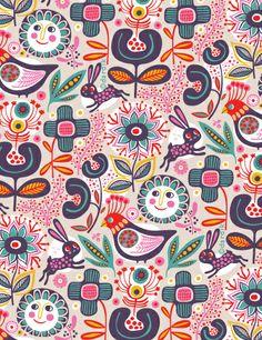 Otra gran ilustracion de Helen dardik.  http://orangeyoulucky.blogspot.com.es/2012/09/weekend-folk-therapy.html