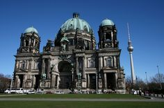 """The Berliner Dom in Berlin, Germany, is an impressive basilica known as the """"Protestant St. Peter's."""" The present Baroque structure dates only from 1905, but stands on the site of several earlier structures. Berlin's cathedral is not a must-see, but it is certainly worth a look if time allows."""