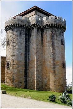 Castillo de Granadilla, Cáceres.