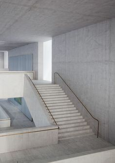 © Ute Zscharnt for David Chipperfield Architects - beautifully executed space and details (Step Design Interior) Architecture Antique, Architecture Design, Concrete Architecture, Houston Architecture, Staircase Architecture, Interior Stairs, Interior And Exterior, Kitchen Ikea, David Chipperfield Architects