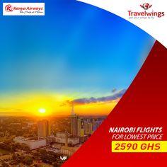 Destination Nairobi #Best #flight #travel #rates on your desired airlines.