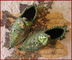 Fairy Shoes pattern on Etsy