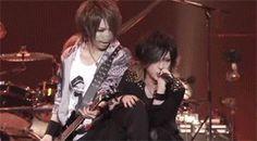 Reita and Ruki. The GazettE