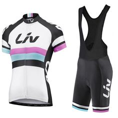 2017 Liv Cycling jersey bike shorts set quick dry Ropa Ciclismo MTB women bicycle wear CYCLING Maillot Culotte suit