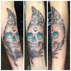 Tattoo by Eddie Parsley in Calgary Alberta (Strange World Tattoos)