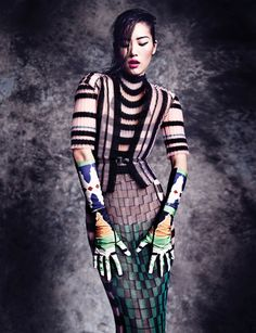 In Vogue Thailand October 2013, Marcin Tyszka Lenses Liu Wen In 'The Empress' New Clothes' - 8 Style | Sensuality Living - Anne of Carversvi...