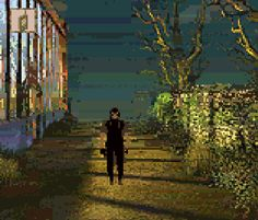 Alone in the Dark the New Nightmare Infogrames Survival Horror Game Boy Color Xtreme Retro 14 Alone In The Dark, New Nightmare, Game Boy, The Darkest, Horror, Survival, Retro, Painting, Art