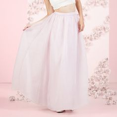 LC Lauren Conrad Runway Collection Organza Ball Skirt - Women's