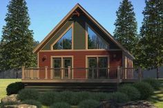 I like the look of this cabin