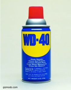 """Eco Housekeeping Tip #57: Got some WD-40 in the garage?   Use it to...    1. Erase Crayon """"artwork"""" on the floor and walls. Simply spray then wipe.  2. Loosen stuck Legos. This will make your kids' day.  3. Get rid of tile and grout stains in your bathroom or kitchen. Once again, spray then wipe! #diy #tip #wd40 #clean #kitchen"""
