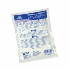 Urea Instant Ice Compression Therapy by Mabis. $21.15. 613-0010-9824 Features: -Compression therapy. -Non-toxic. -Remains cold for 30 minutes. -Squeeze to activate. -Remains flexible when activated. -Disposable - 1 time use only. -Latex free. -Recommended for muscular pain relief and to reduce swelling.