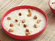 Creamy Rice Kheer with Condensed Milk and Dryfruits - Easy Recipe of Rice Pudding with Cooked Rice - Indian Sweet /Dessert - Recipe with Step by Step Pictures