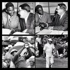 G T @Greg T Instagram photos | Websta - April 10, 1947 Branch Rickey, Owner of the Brooklyn Dodgers, purchases the Contract of Jackie Robinson from the Montreal Royals & April 10, 1975 Lee Elder becomes the First African American to Tee Off at The Masters Tournament at Augusta Ga. #blackhistory #42 #TheMasters #dodgers #augusta #jackierobinson #leeelder