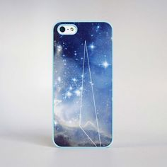 LIKE!♥  Jessica Lee and Sean Kwac - iPhone 5 Case Geo Galazy Blue