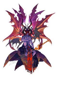 プート・サタナキアとも呼ばれる。 18世紀頃に民間に流布したグリモワールの1つである『真正奥義書』によれば、サタナキアはルシファーの配下の悪魔であり、ルシファー、アガリアレプトとともにヨーロッパ・アジアに住まう。45もしくは54の悪魔を従えている。 18世紀以降に流布したと考えられているグリモワール『大奥義書』におけるサタナキアは、地獄の3人の支配者ルシファー、ベルゼビュート、アスタロトに仕える6人の上級精霊の1人である。アガリアレプトとともに将軍を勤め、大将(総司令官)とされる。プルスラス、アモン、バルバトスら3人の精霊を配下に持つ。また、あらゆる女性を意のままに従わせる力を持つという。