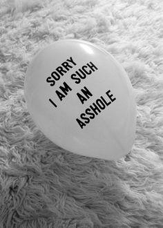 haha best balloon ever