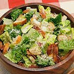 The Ultimate Caesar Salad recipe - Canadian Living. Our new favorite caesar dressing! Lost in ingrediaents but easy to make. Didn't have anchovy paste so subbed soya sauce. Easy Salad Recipes, Salad Dressing Recipes, Healthy Recipes, Salad Dressings, Ceaser Salad Recipe, Caesar Recipe, Chicken Ceasar Salad, Salads For A Crowd, Gourmet