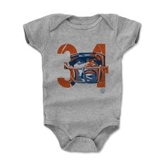 Walter Payton Number OB Chicago Officially Licensed Onesie 3-24 Months