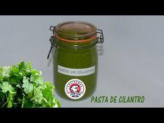 pasta de cilantro para cocinar todo tipo de comidas - YouTube