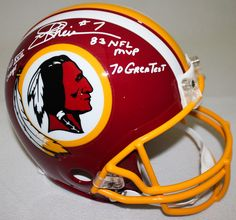 JOE THEISMANN Autographed / Inscribed Redskins Proline Helmet STEINER LE 7 - Game Day Legends - www.gamedaylegends.com Sports Memorabilia