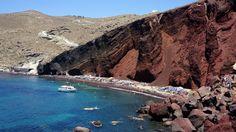 Red Beach & White Beach , Santorini