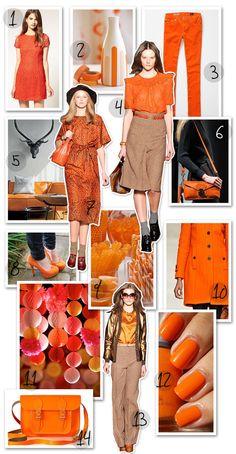 Orange your world this summer & spring 2012!