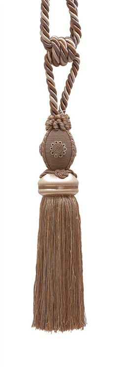 """Free shipping on all orders over $50.00 within the USA;Use coupon code: 50SHIPFREEShiny high-end Rayon finish - Tassel length 10"""" inch - 3/8"""" Cord 30.5"""" inch Embrace -Hand Crafted and features Decorative Medallions -SKU: TBB-1_CLR:7245 Tab Curtains, Curtains And Draperies, Curtain Tie Backs, Drapery, Single And Happy, Single Life, Pink Roses, Baroque, Tassels"""