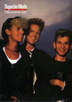 Martin Gore, Andrew Fletcher, Dave Gahan - Depeche Mode
