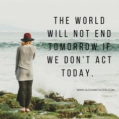 Throughout my life, I made decisions based on one thing. How I felt in the moment. Turned out to be a bad idea. The world will not end tomorrow if we don't act today. We can act in good time, slowly and consciously, and so enjoy the warm glow of satisfaction from a decision well made.  May you choose well and slowly. #selfcare #authentic #mindfulness #meditation #selfactualization #selfacceptance #happiness #findingjoy #lettinggo #decisions