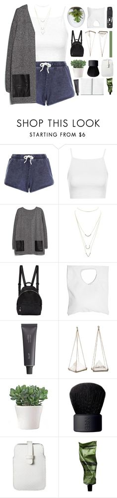 """♡ 7,000 FOLLOWERS"" by spriingy ❤ liked on Polyvore featuring New Look, Topshop, MANGO, Charlotte Russe, STELLA McCARTNEY, Jennifer Haley, Bite, Unearthen, NARS Cosmetics and Mossimo"