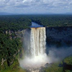 Kaieteur Falls, Guyana #CaribbeanWeek