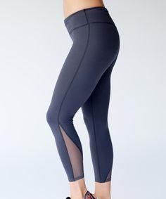 Graystone Cool It Off Mesh Activewear Leggings - Plus Too