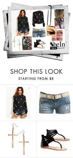 """""""Untitled #710"""" by undeaddemon18 ❤ liked on Polyvore featuring Sephora Collection, Wet Seal, Topshop and Bamboo"""