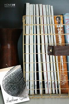 Home Made by Carmona: DIY Wire Baskets