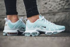 7933851d40d3f4 Nike Air Max Plus TN Ultra Glacier Blue is a women s exclusive release of  the Tuned