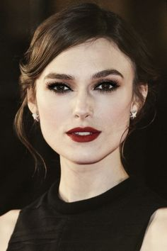 Keira Knightley makeup - Fashion and Love                                                                                                                                                                                 More