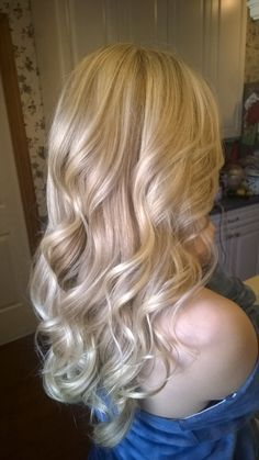 ****Blonde hair  with dimension. Bethany at Hans Maxems Jackson NJ 732-961-0019 ****