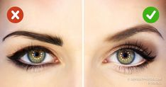Big eyes look more attractive but we all are not blessed with these beautiful eyes. This article will share some makeup tricks for bigger eyes. Makeup Tricks, Makeup Ideas, Eye Liner Tricks, Makeup Tutorials, Makeup Techniques, How To Apply Makeup, Beauty Routines, Makeup Yourself, Whitening