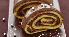 Bûche au Nutella - 70 recettes de bûches de Noël - Cuisine Actuelle