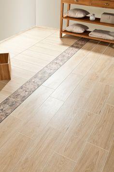 Fronda Arce ceramic wood effect tile #armatile #woodtiles
