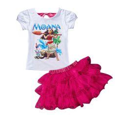 Conjunto Infantil Moana
