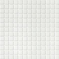 Mosaïque Emaux blanc 30 x 30 cm