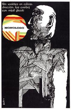 Cuban film posters by Eduardo Muñoz Bachs