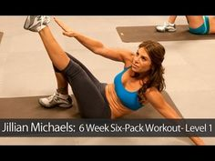 Jillian Michaels: 6 Week Six-Pack Workout- Level 1
